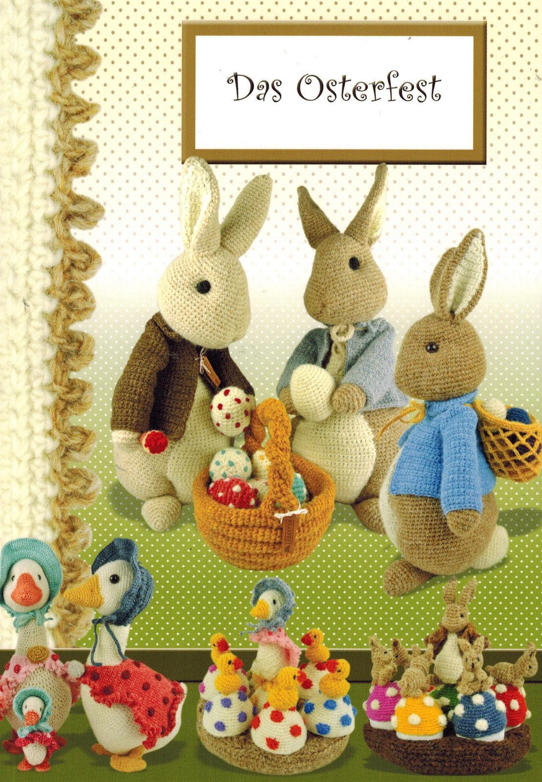 Das Osterfest Häkeln Amigurumi Häkeln Osterhase Hase Gans Eier