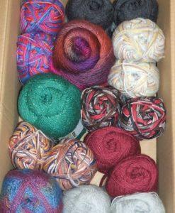 Sockenwolle